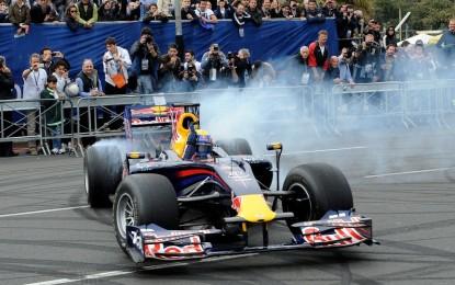 Ottimo successo per il Red Bull F1 Show Run