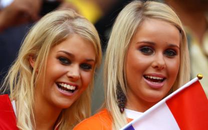 L'Olanda vince anche sugli spalti