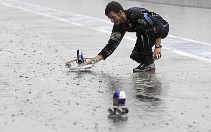 A Suzuka piove a dirotto…