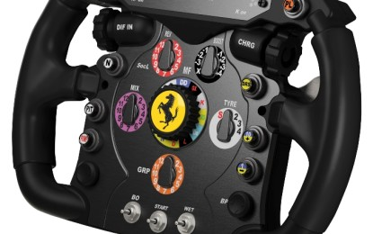 ThrustMaster presenta il Ferrari F1 Wheel Add-On per il T500 RS