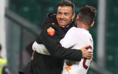 Roma corsara a Palermo. Nona rete in campionato per Borini, e Luis Enrique può sorridere.