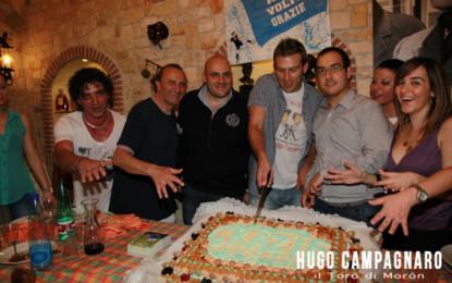 """Hugo Campagnaro: """"Vi porterò per sempre nel mio cuore"""". Grande successo per il Campagnaro Day organizzato dalla Terzo Tempo"""