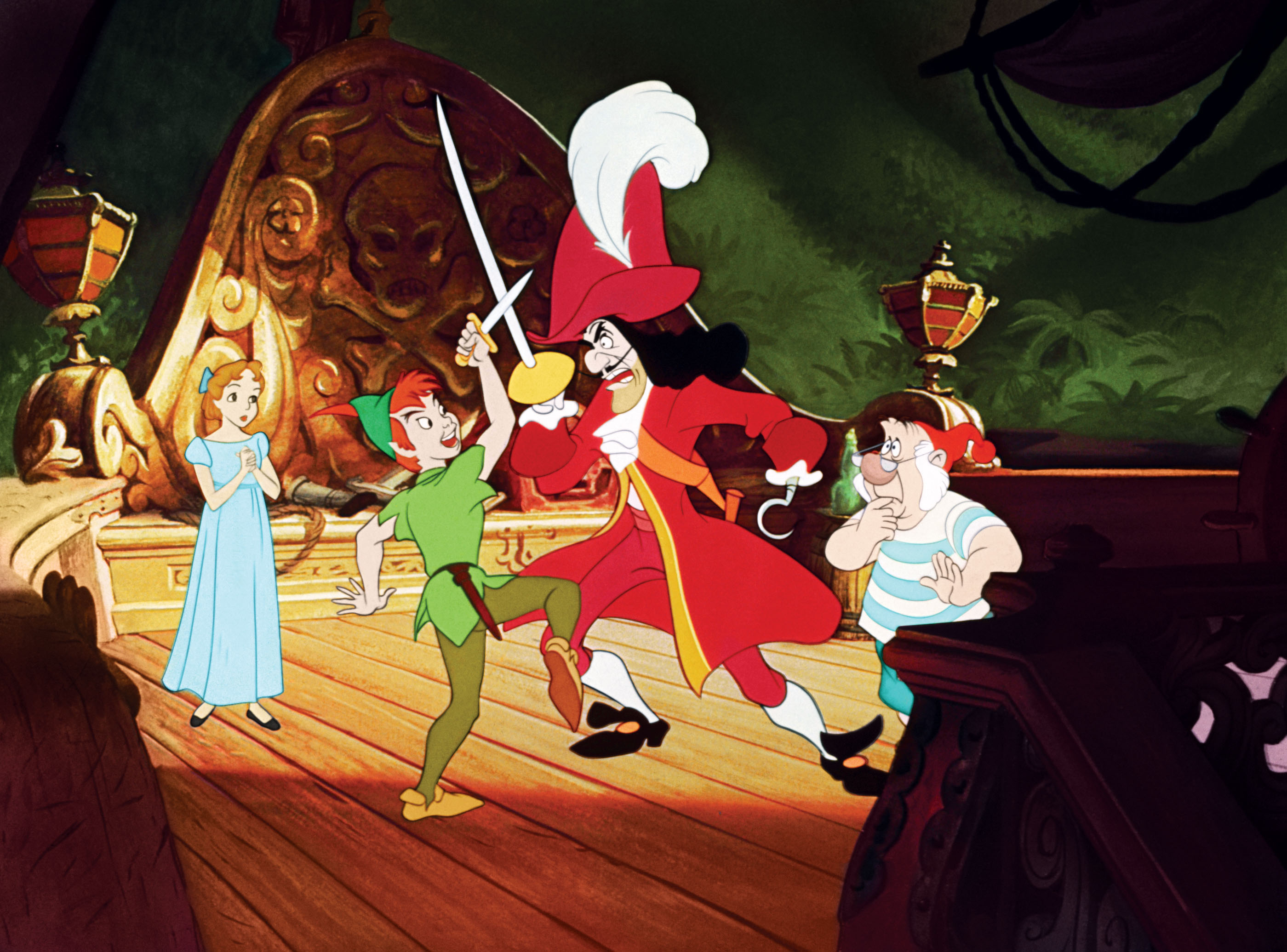 Peter Pan was really Disney's first foray into action and fantasy.  It began with Alice in Wonderland two years...
