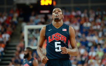 Mondiali FIBA 2014 –  I preconvocati del team USA per Madrid: ci sono Durant e Curry. Anche Rose in lista