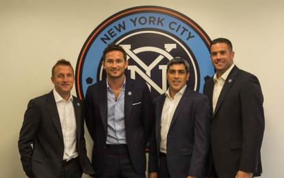 Dopo Villa, altro colpo dei New York City FC: firmata la bandiera del Chelsea Frank Lampard