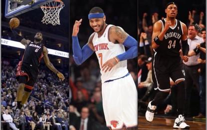 NBA Free Agent, Part III: le Ali Piccole. Riflettori su Melo e LeBron, occhio ai veterani Pierce e Carter. Ariza e Parsons gli outsider.