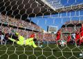 Argentina-Svizzera 1-0: Messi inventa, Di Maria segna. Sabato toccherà al Belgio.