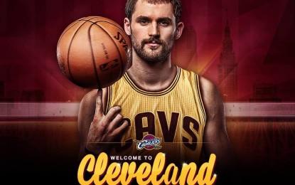 Il countdown è finito! Anche i Cavaliers hanno i loro Big Three: LeBron James, Kyrie Irving e Kevin Love.