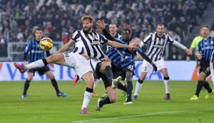 Soccer: serie A, Juventus-Atalanta
