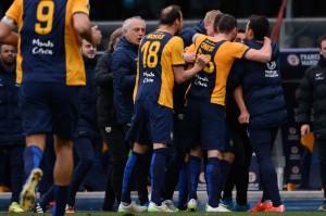 Soccer: Serie A; Hellas Verona-Roma