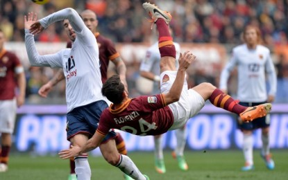 Roma-Genoa 2-0. Decidono Florenzi e Sadiq. Espulso Dzeko per proteste