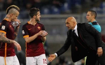 """Roma-Frosinone 3-1, Spalletti: """"Una liberazione"""""""