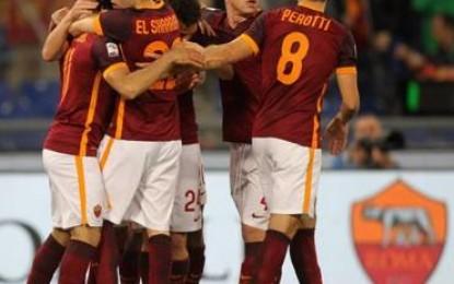 Roma-Fiorentina 4-1. I giallorossi volano a un soffio dal secondo posto
