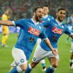 Soccer: Serie A; Napoli-Frosinone
