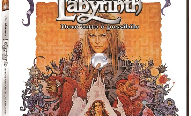 Labyrinth con David Bowie in 4K Ultra HD Universal