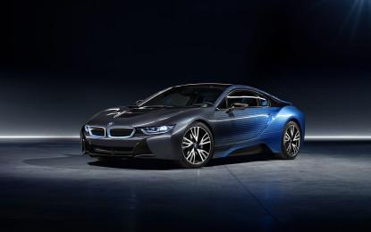 GARAGE ITALIA CUSTOMS E BMW PRESENTANO BMW i8 E BMW i3 CROSSFADE