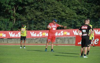 Nella partitella pomeridiana solito show di Mertens ed Insigne, ma soprattutto primi goal di Milik