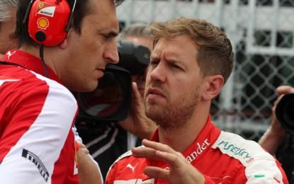 Sale la tensione in casa Ferrari: vantaggio cancellato, gomme in crisi, e ci si mette anche il contratto di Vettel…