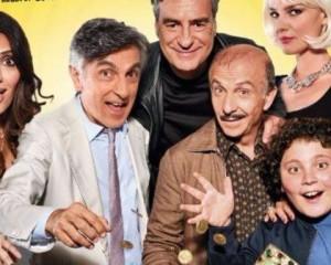 """Vincenzo Salemme e Serena Rossi dal 23 novembre al cinema con """"Caccia al tesoro"""",  la favola moderna di Carlo Vanzina"""
