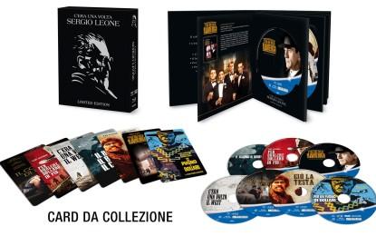 Eagle pubblica il Cofanetto Sergio Leone in Bluray e DVD dal 13 Dicembre