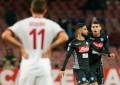 Napoli-Milan 2-1: I Tabellini