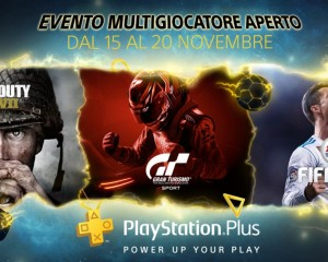 PlayStation Plus: Multiplayer gratis per 5 giorni