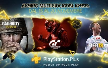 PlayStation Plus: Multiplayer gratis per 5 giorni