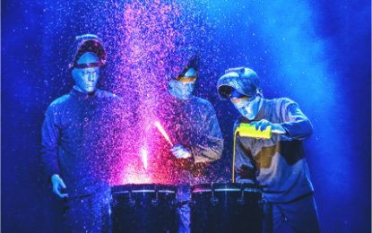 Blue Man Group: in giro per Trieste il 21 Novembre