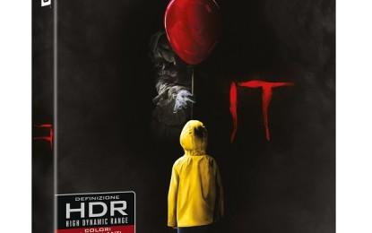 It: in uscita in Bluray 4K Warner