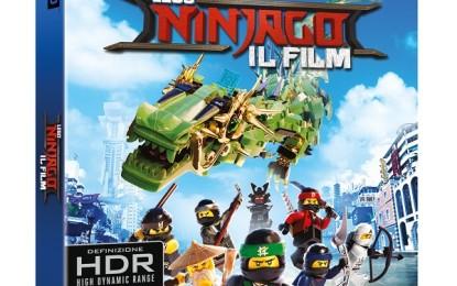 LEGO Ninjago: il Film – dal 7 febbraio in Warner Home Video