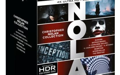 Nolan Collection in 4K: 7 film in un cofanetto Ultra HD Warner