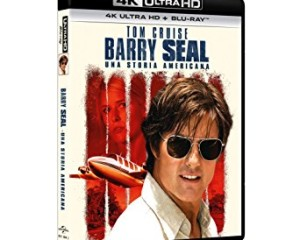 Barry Seal Ultra HD Bluray Universal: La Recensione