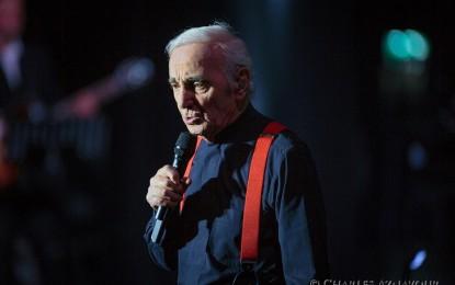 Charles Aznavour in concerto a Palmanova il 23 Giugno 2018