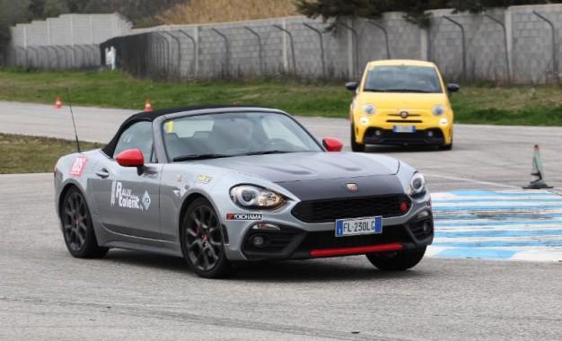 Aci Rally Italia Talent targato Abarth: conclusa al Circuito Internazionale d'Abruzzo la quinta Selezione dell'edizione 2018
