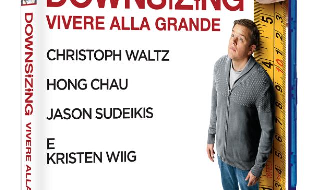 Downsizing con Matt Damon: dal 10 Maggio in Digital HD e dal 23 Maggio in Bluray e DVD
