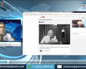Patrimonio Italiano TV, riguarda la diretta di 'Italian Heritage' del 17 luglio