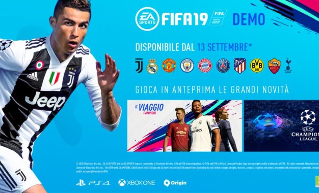 FIFA 19: la DEMO uscirà il 13 Settembre
