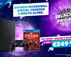 Black Friday: Sony PlayStation offre interessanti sconti
