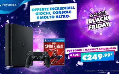 Black Friday: Sony PlayStation offre interessanti sconti