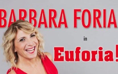 Euforia ! Il nuovo spettacolo di barbara foria al Sala Umberto dal 27 Novembre al 9 Dicembre.
