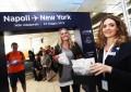 Napoli e New York da oggi più vicine: c'è il volo diretto da Capodichino