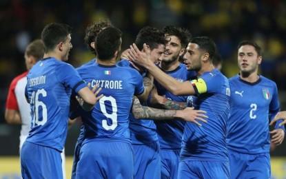 Verso l'Europeo. Di Biagio convoca 26 Azzurrini per un pre ritiro a Roma La squadra inizierà la preparazione mercoledì 29 presso il Centro Sportivo di Formello; giovedì 6 giugno la lista ufficiale dei 23 calciatori