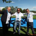 ©A.Romano/Ag.Partenopress - il direttore Luigi Liberti con Stefan Schwoch e Michele Pilla