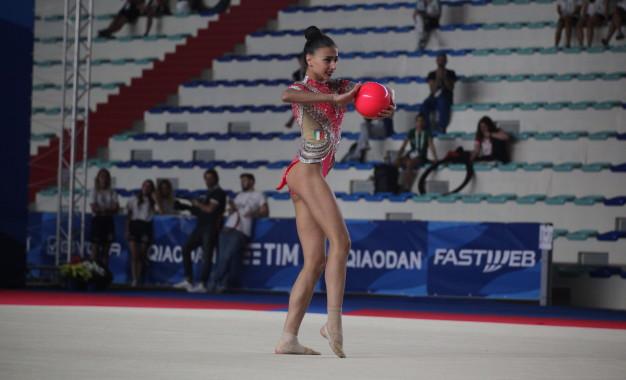 Universiadi, gare di ginnastica ritmica al PalaVesuvio dall'11 al 13 luglio. Alessia Russo va in finale !
