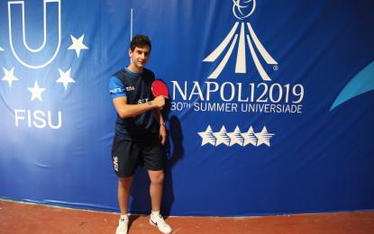 Universiadi: Pozzuoli ospita le gare di tennis tavolo al palasport di Monterusciello