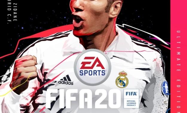 FIFA 20: Zidane sulla Copertina Ultimate Edition
