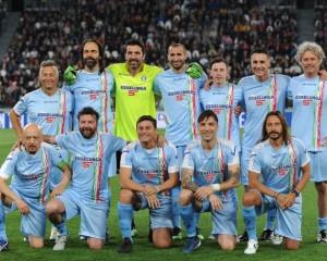 """Nazionale Cantanti e Nazionale Magistrati """"Il Cuore in Campo contro La Violenza"""" Stadio Pasquale Janniello"""