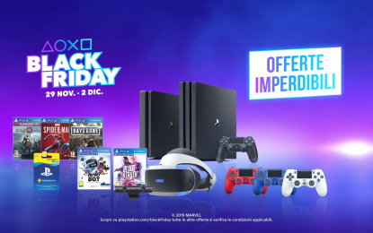 Occasioni PS4 con Black Friday,Cyber Monday e non solo!