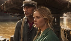 Dwayne Johnson is Frank and Emily Blunt is Lily in Disney?s JUNGLE CRUISE.