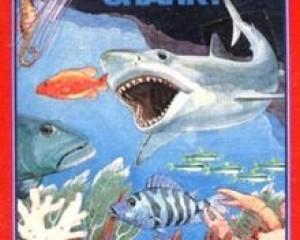I giochi disponibili al lancio di Intellivision Amico: Shark Shark!